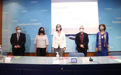 Reunión con la Ministra de Industria, Turismo y Comercio, sra. Reyes Maroto