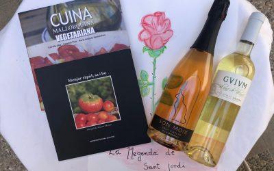Por Sant Jordi regala: libros, rosas y… vino. (1)