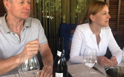 Sesión de cata de los vinos de la DO Pla i Llevant a cargo de David Schwarzwälder e Yvonne Heistermann.